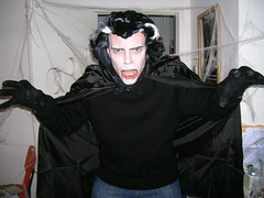 "Brent on his way to a Cradle Of Filth concert rocking the corpse paint!!! • <a style=""font-size:0.8em;"" href=""http://www.flickr.com/photos/37867910@N00/284998136/"" target=""_blank"">View on Flickr</a>"