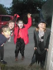 It's Haalowe'en! (Rhian vK) Tags: france halloween monster brittany witch vampire bretagne 2006 dracula breizh frankenstein frankensteinsmonster morbihan llydaw guern kerhiec breizhbretagnellydawbrittany