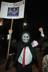 Vote for Skeletor.  Photo by Clinton Steeds.