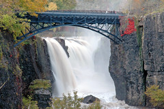 The Great Falls of the Passaic River, New Jersey (Jersey JJ) Tags: river waterfall newjersey d70 nj falls explore paterson sopranos passaic passaicriver fallspatersonusa tpsnature
