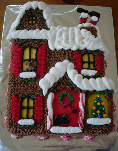 Christmas Cake - Buttercream