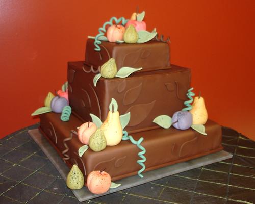 Peter's Chocolate Autumn Cake