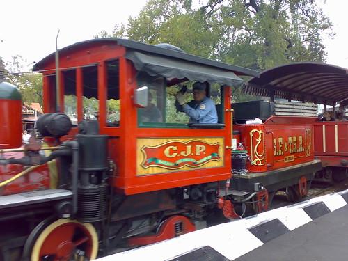 Charles Jefferson Patton steam engine