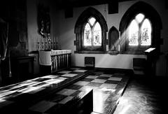 (oandu.) Tags: blackandwhite bw church architecture straight incense stokenewington shaftsoflight stmatthias 3ofakind