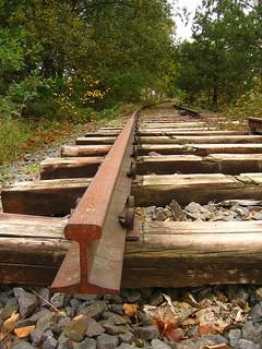 useless  .............  ausgediente Industriebahngleise
