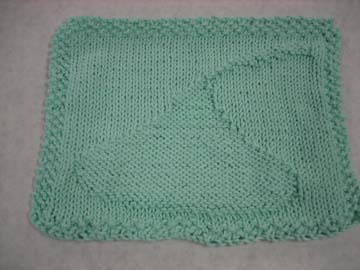 Hershey Kiss Dishcloth by kgclements.