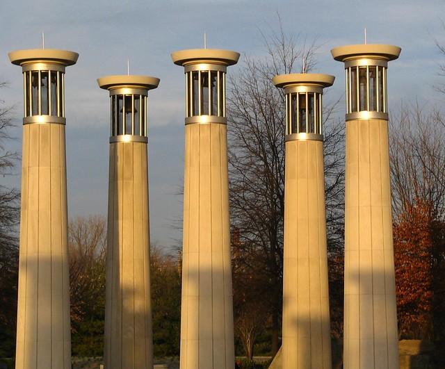 Bicentennial Mall Bell Towers