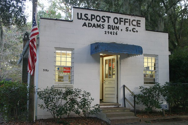 Post Office at Adams Run, South Carolina