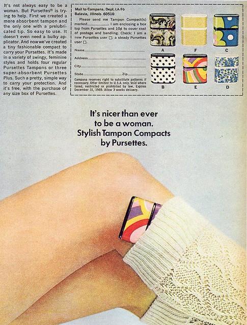Pursettes ad, 1969