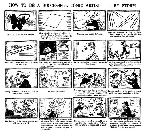 How to be a successful comic artist
