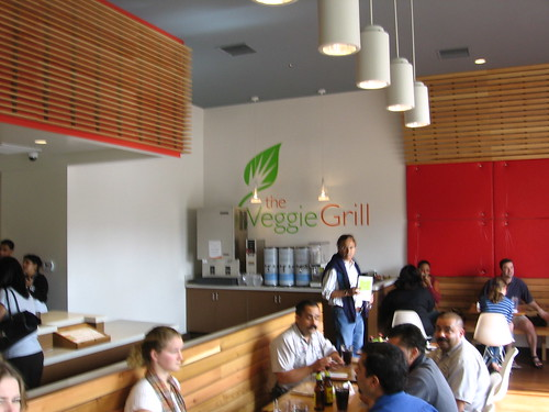 Inside the Veggie Grill! by Ned Raggett