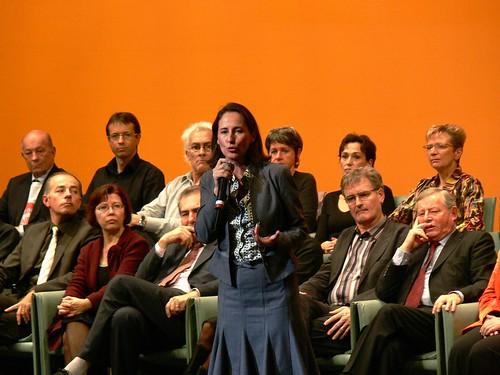 Nantes Cité des congrès - dernier meeting de Ségolène Royal