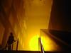 Tate Modern Sunset (mattrkeyworth) Tags: city uk greatbritain sunset england sun london britain sony capital tatemodern olafureliasson theweatherproject p12 newlight dscp12 festivallondon mattrkeyworth