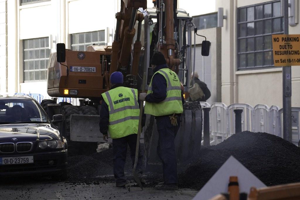 MEN AT WORK IN DUBLIN