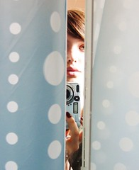 (.pola) Tags: selfportrait me mirror yo polkadots espejo mirrormirror cez meandmycamera youngphotographers firstfave