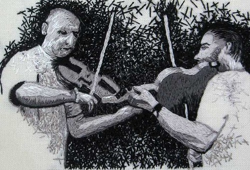 dueling fiddlers
