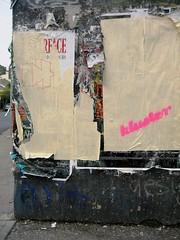 (leaaaah) Tags: poster stencil sydney newtown scarface thehub kluster wwwklustercomau