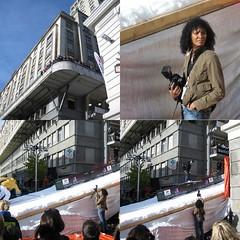 Ski in the city - the Photographer (Fispace) Tags: snow ski lady switzerland photographer contest lausanne snowboard cransmontana flon genevalunch