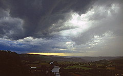 Périgord landscape (jipol) Tags: cloud france river dark landscape intense nikon dramatic ciel sombre 200 périgord f80 nuage paysage thunder obscur