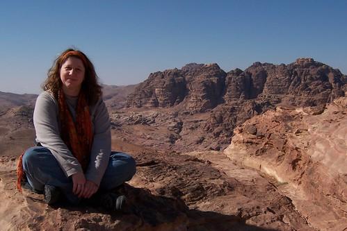 Jayne Cravens in Petra