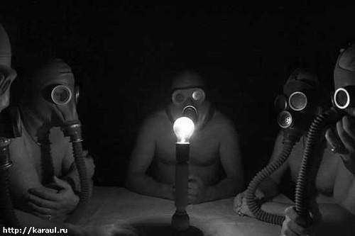 dark roasted blend cold war gas mask fashion