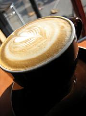 Coffee break (itselea) Tags: coffee beverage latte latteart macroshot angled barefootcoffeeroasters