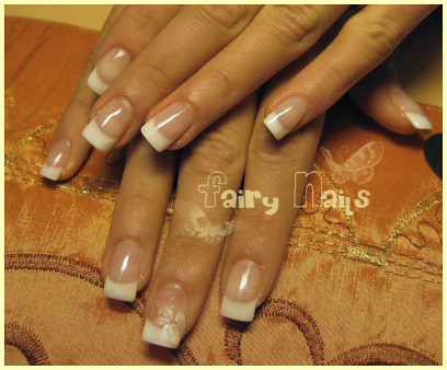 French Manicure Nail Art Design Nail Art Designs