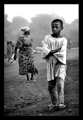 In our time / En nuestro tiempo (brunoat) Tags: africa boy portrait blackandwhite bw blancoynegro child retrato been1of100 unposed nio cameroon cameroun robado camerun lmff lmff1 lmff2 lmff3 lmff4 brunoat bwart8days brunoabarca