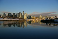 Calm Waters (rldock) Tags: snow reflection vancouver