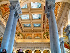 the library of congress: look something up, or just look up - by sandcastlematt