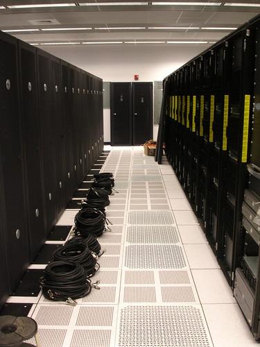 VIsiting Dave: Server Room