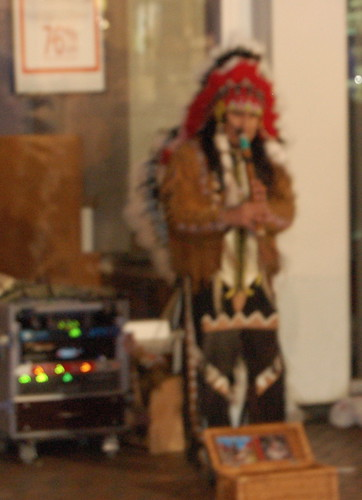 Big Chief Busks-with-recorder