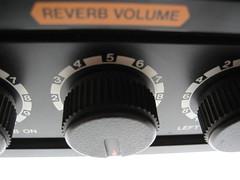 Boss RX-100 Reverb volume knob