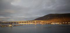 DXO_0405_DxO (S amo) Tags: norvege norway hurtigruten eau mer water sea bridge pont tromso soleil sunlight lumiere