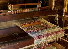 Weaving loom (Tim Ravenscroft) Tags: weaving loom cabin blueridgemountains virginia usa