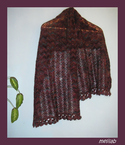 lace&beads stole