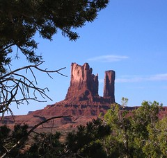 In the Distance (Sandra Leidholdt) Tags: park arizona usa southwest monument america landscape us sandstone scenery unitedstates desert nation tribal american valley desierto navajo paysage navaho amricain americansouthwest sandraleidholdt leidholdt sandyleidholdt