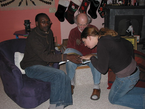 Frank, Jim, Rachael 1-'07
