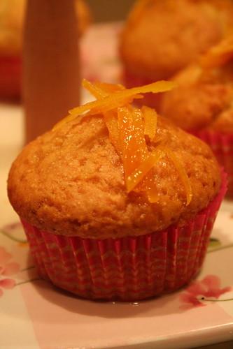 haşhaşlı portakal şuruplu muffin