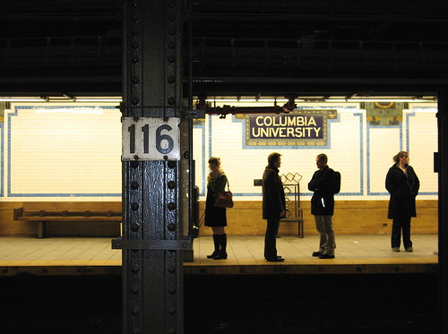 Columbia University Subway Station - 116th and Broadway