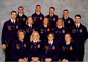 Missouri State FFA Officer Team 00-01