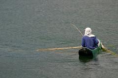 Fishing (Paul Hagon) Tags: bali fishing lakebatur