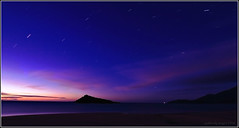 Starry Night (aumbody images) Tags: longexposure sky colour beach nature night stars quality tokina1224 whitsundays queensland startrails 30d austarlia specnature aumbodyimages abigfave capegloucester