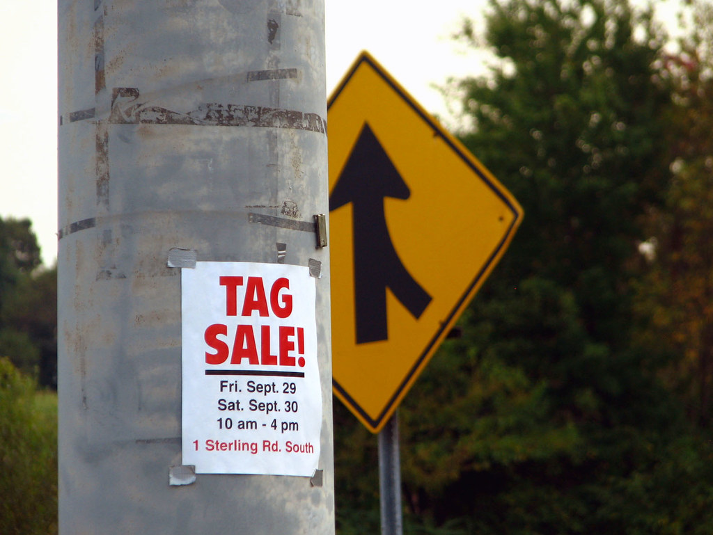 Tag Sale by Roo Reynolds on Flickr
