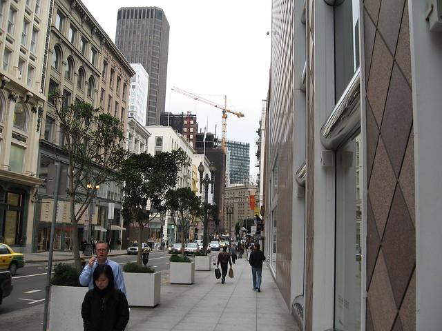 Street Scene in San Fran