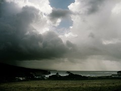 stormyweather 2 (s0ulsurfing) Tags: sea storm water rain clouds island bay coast waves moody fluffy stormy 2006 isle nube wight meteorology freshwater nephology s0ulsurfing