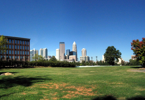 Downtown Charlotte from the west