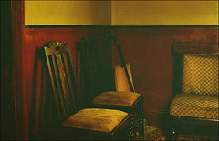 . Songs For Waiting Rooms . (3amfromkyoto) Tags: wood old carpet chair waiting rooms chairs room vacuum fabric worn rug hoover waitingroom songs 3amfromkyoto songsforwaitingrooms flickr:user=3amfromkyoto