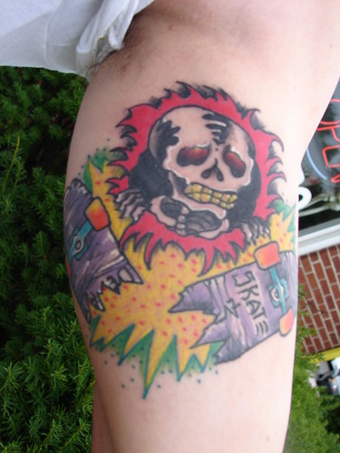 SkullandBonesSkateboards.com ~ View topic - Skate Tattoos