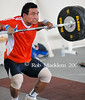 one of many versions of pulls performed (Rob Macklem) Tags: world 2006 strength olympic weightlifting championships domingo santo
